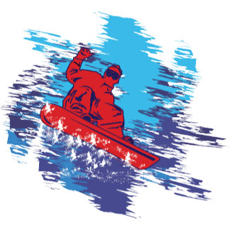 All Over Snowboarder