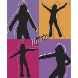 That's So Raven Four Silhouettes Logo