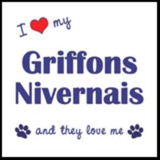 I Love My Griffons Nivernais (Multiple Dogs)