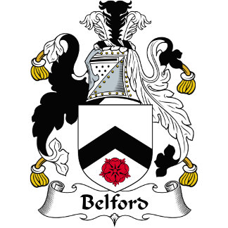 Belford Family Crest / Coat of Arms
