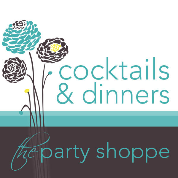 Cocktail, Dinner and Wine Party Invites & Stickers