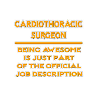 Cardiothoracic Surgeon .. Job Description
