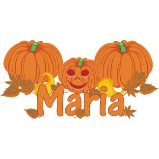 Pumpkin Maria Personalized Halloween