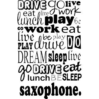 Saxophone Live Go Be
