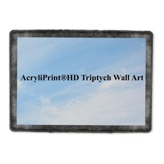 A AcryliPrint®HD Triptych Wall Art