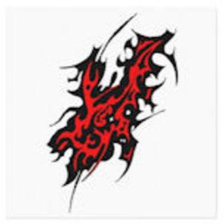 Tribal Tattoo Scar