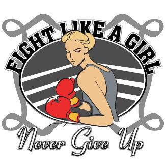 Brain Tumor Fight Like A Girl Boxer