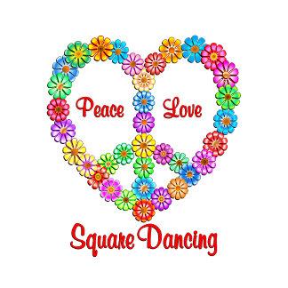 Square Dancing Peace Love