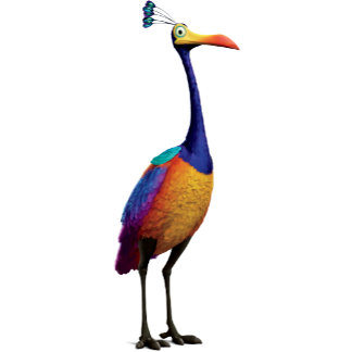 The Bird from the Disney Pixar UP Movie (Kevin)