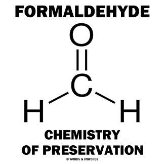 Formaldehyde Chemistry Of Preservation (Molecule)