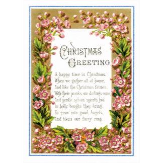 Christmas Greeting Poem