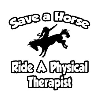 Save a Horse, Ride a Physical Therapist