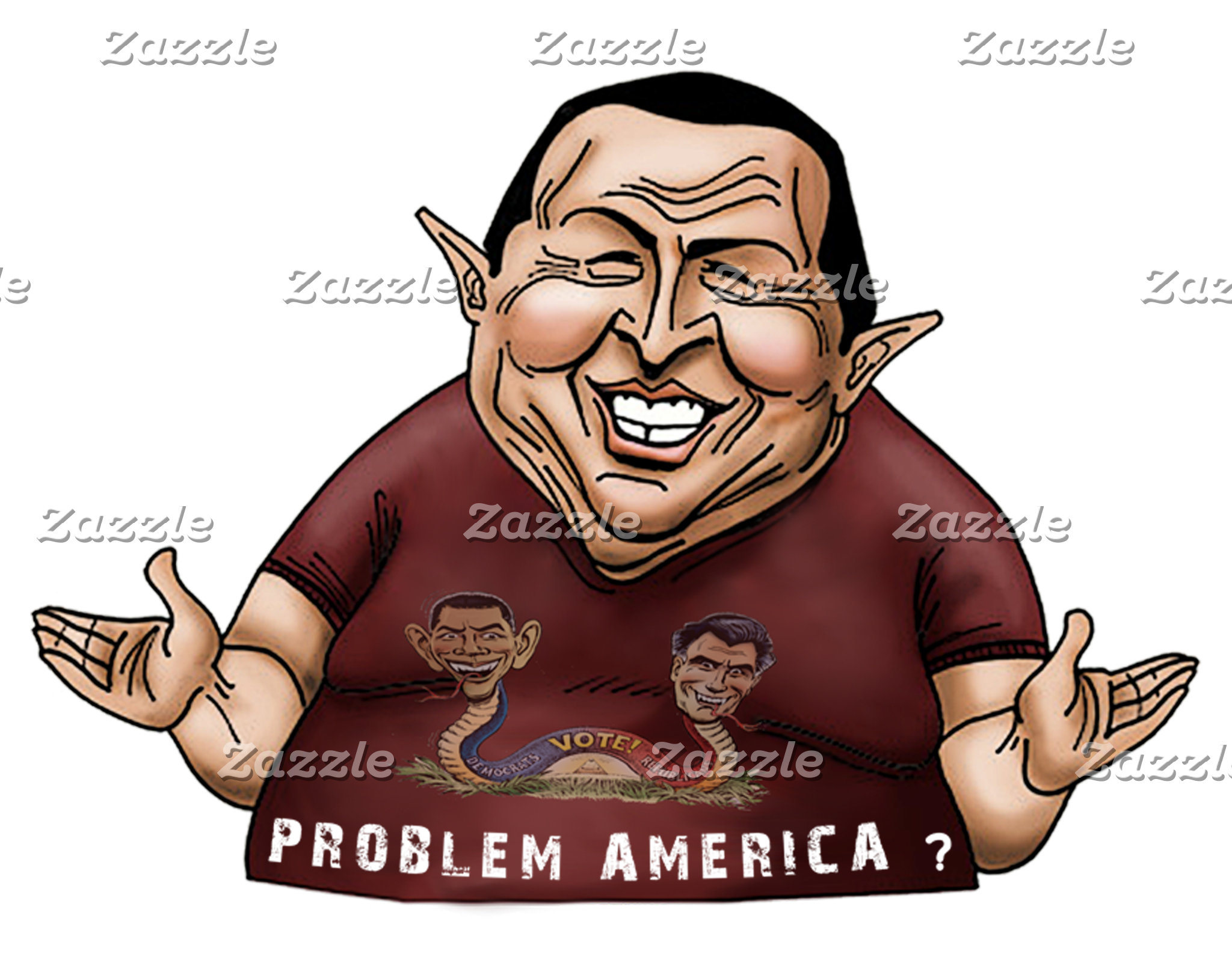 [NEW] Hugo Chavez - Problem America style