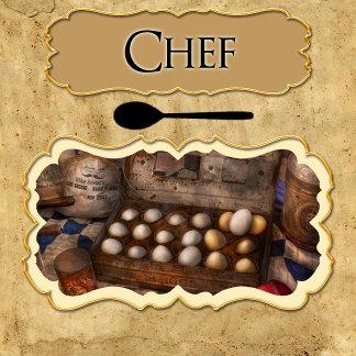 - Job - Chef - Ornaments