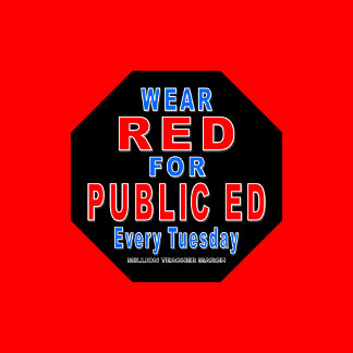 Wear Red for Public Ed