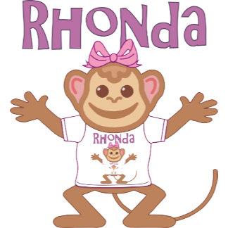 Little Monkey Rhonda