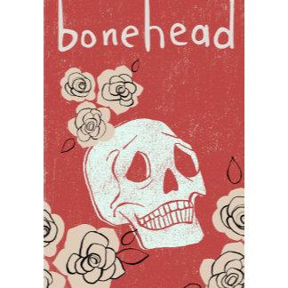 """Bonehead Poster Print"""