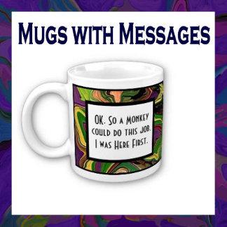 Mugs with humor and inspiration