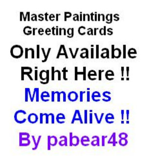Greeting Cards Art Painting Specials