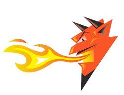 Fiery Devil's Head