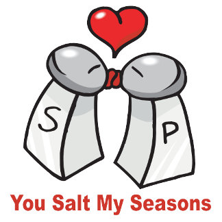 Salt and Pepper Valentines Day T-shirts and Gifts
