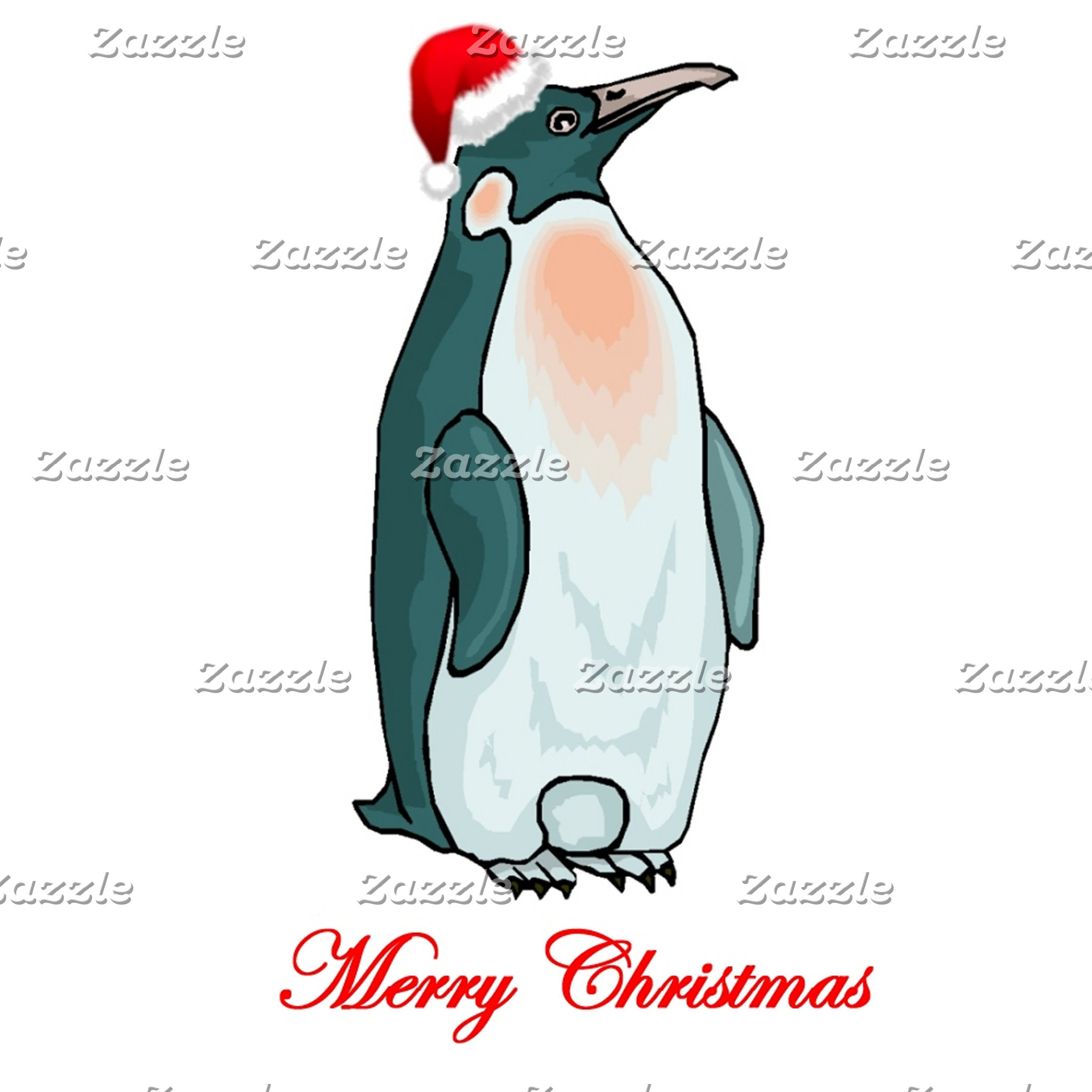 Cute Christmas Penguin Tees and Gifts