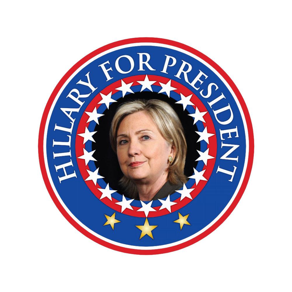 Hillary for President - Seal