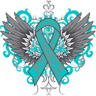 Ovarian Cancer Cool Wings