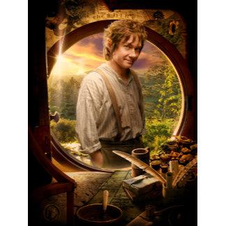 Bilbo in Shire Collage