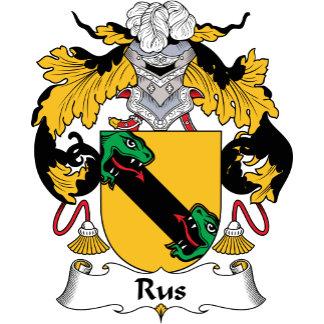 Rus Family Crest