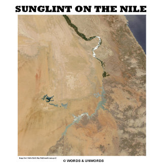 Sunglint On The Nile (Egypt Picture Earth)