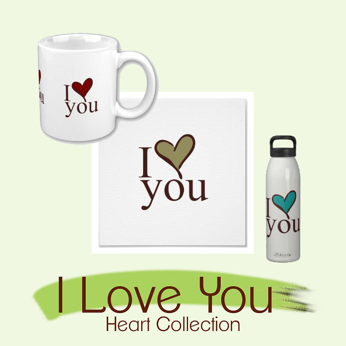 Gifts - I Love You Heart Collection