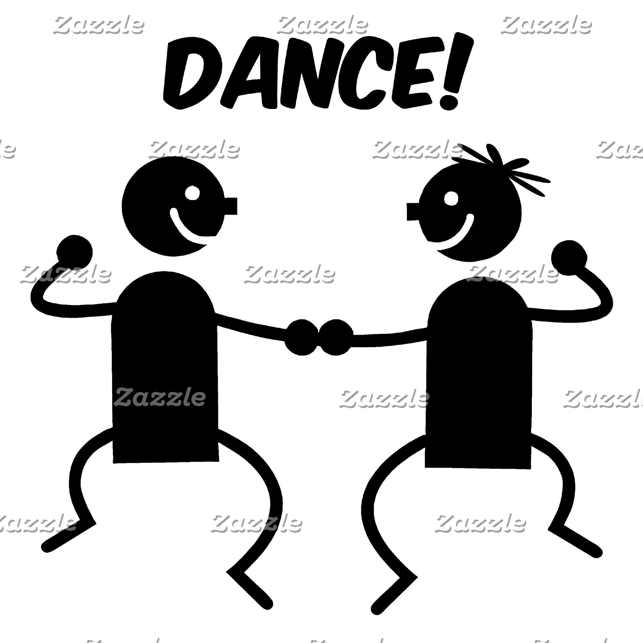 Cute dance partners