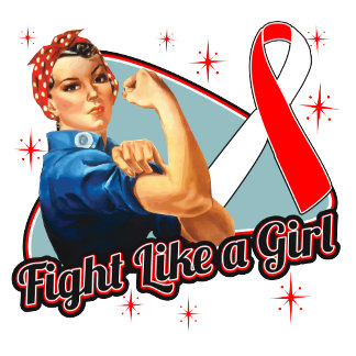 MDS Fight Like A Girl Retro Rosie