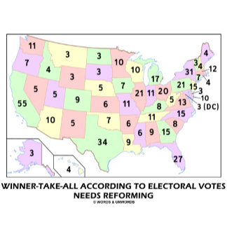 Winner-Take-All According To Electoral Votes Needs