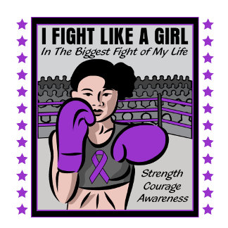 Epilepsy I Fight Like A Girl Battle