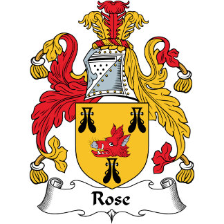 Rose Family Crest