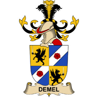Demel Family Crests