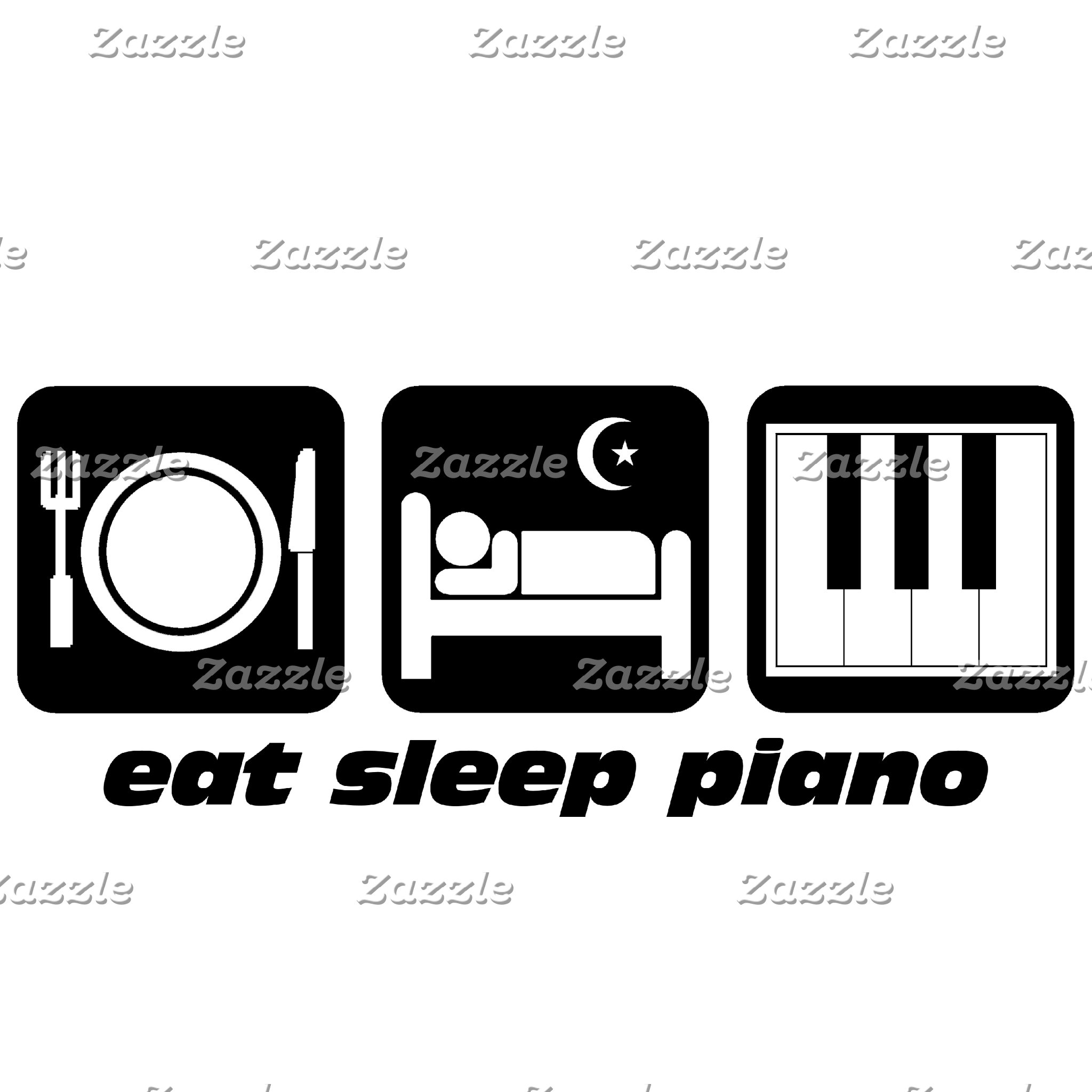 eat sleep piano