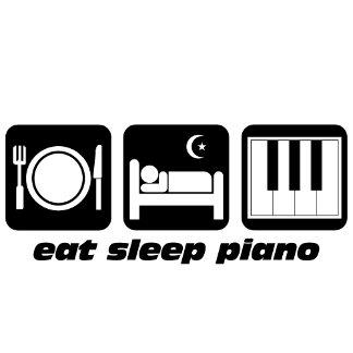 eat sleep piano