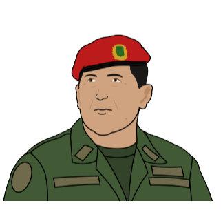 Hugo Chavez - Hugo the Red Hat Cartoon style