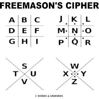 Freemason's Cipher (Cryptography)