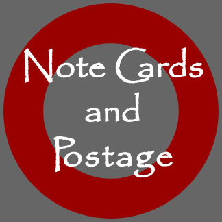 NOTE CARDS & POSTAGE