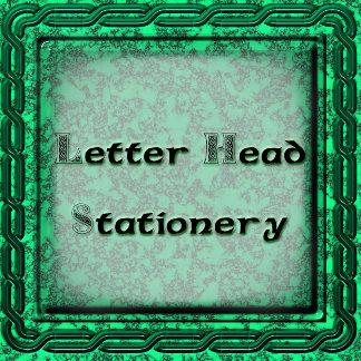 Letter Head, Writing Paper Statonary