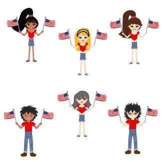 American Patriotic  Kids