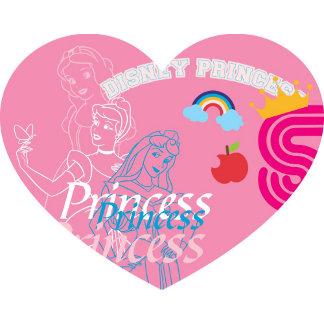 Cinderella Inside Pink Heart