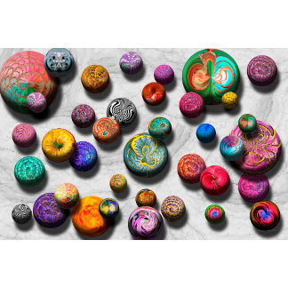 Abstract - Marbles