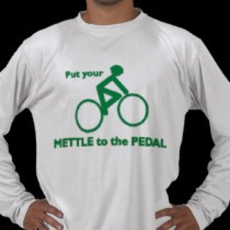 Mettle to Pedal (Green/Cycling)