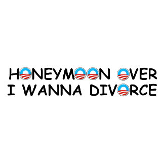 Anti Obama bumper-stickers,funny honeymoon saying