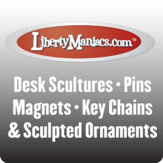 Pins Desk Scultures & Magnets